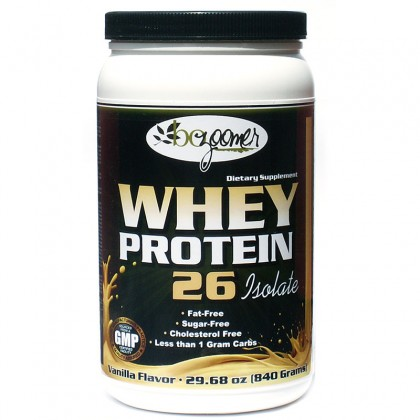 Whey Protein-26 Isolate   29.7 oz / 840 grams