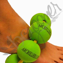 Arc Roller - My-O-Balls™ self-securing myofascial release device bozoomer foot