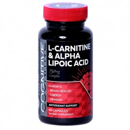 Cognitive Acetyl L-Carnitine with Lipoic Acid - 60/120 Capsules