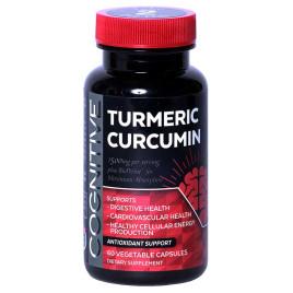 Cognitive Turmeric-Curcumin  w/ BioPerine  NON GMO - 60/120 Capsules