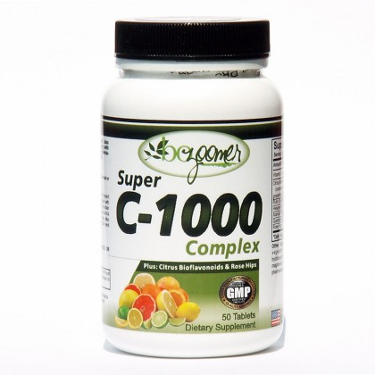 Super C-1000 Complex - 60/180 tablets