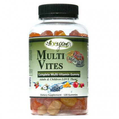 MultiVites - Gummy - 120 count  - Buy 2 get 1 Free SAVE 22.95 - Total 360 gummies