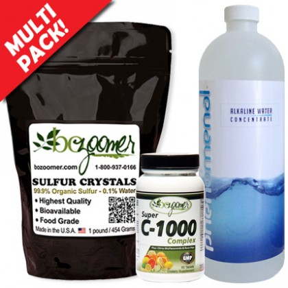 Sulfur + pHwater + C1000 Multi Pack!  - $19.94 Savings - Promo Code is excluded